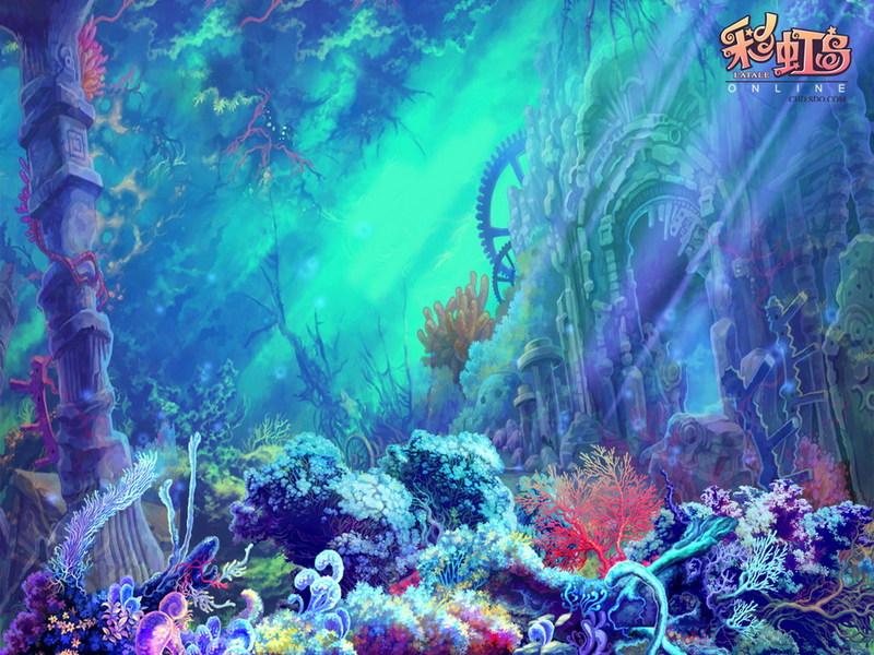 彩虹岛 游戏壁纸