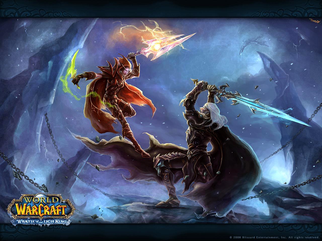 魔兽世界:巫妖王的陨落壁纸第2