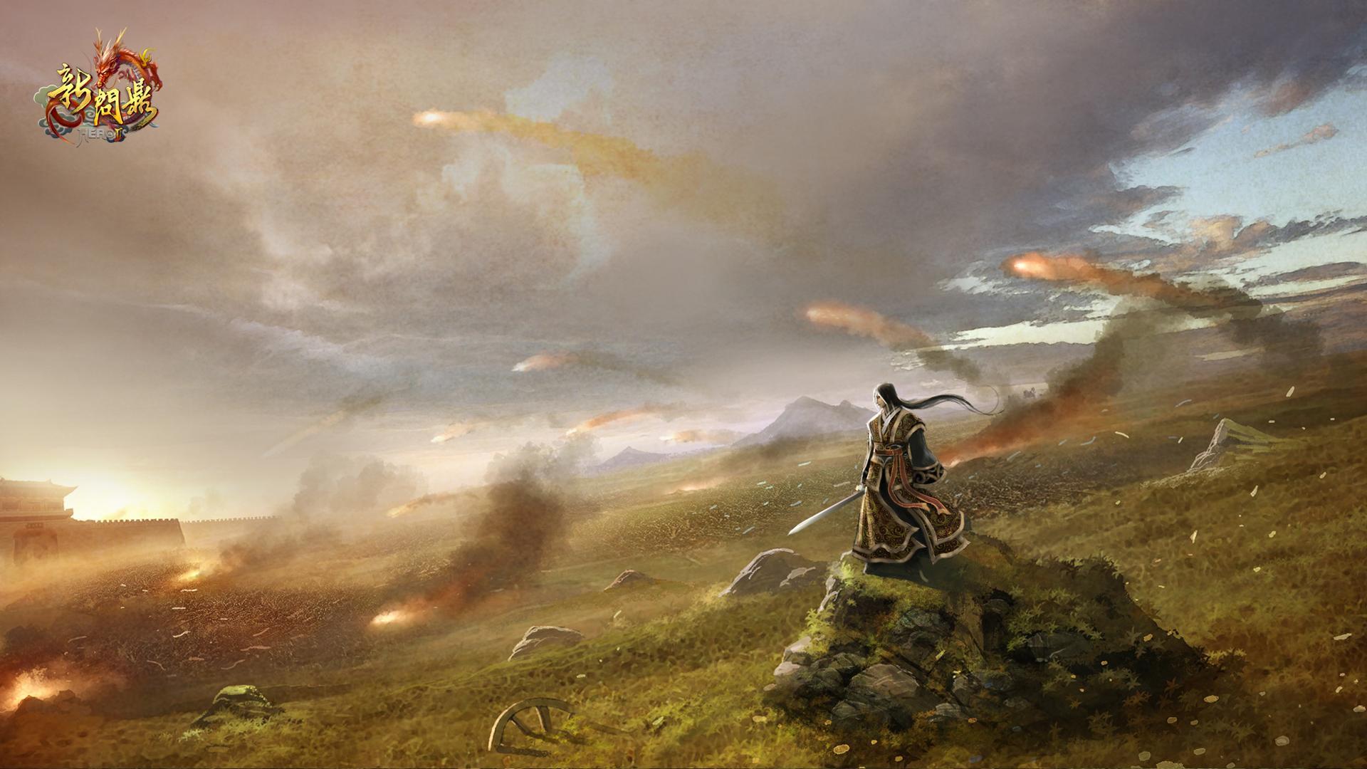 古战场游戏背景素材