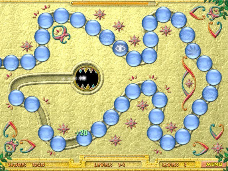 ...泡泡龙系列半自由的游戏方式.一起祖玛也成了休闲游戏的一个...