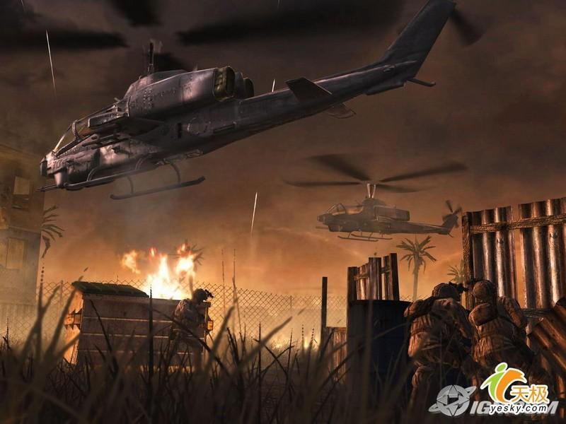 使命召唤4:现代战争壁纸第10张