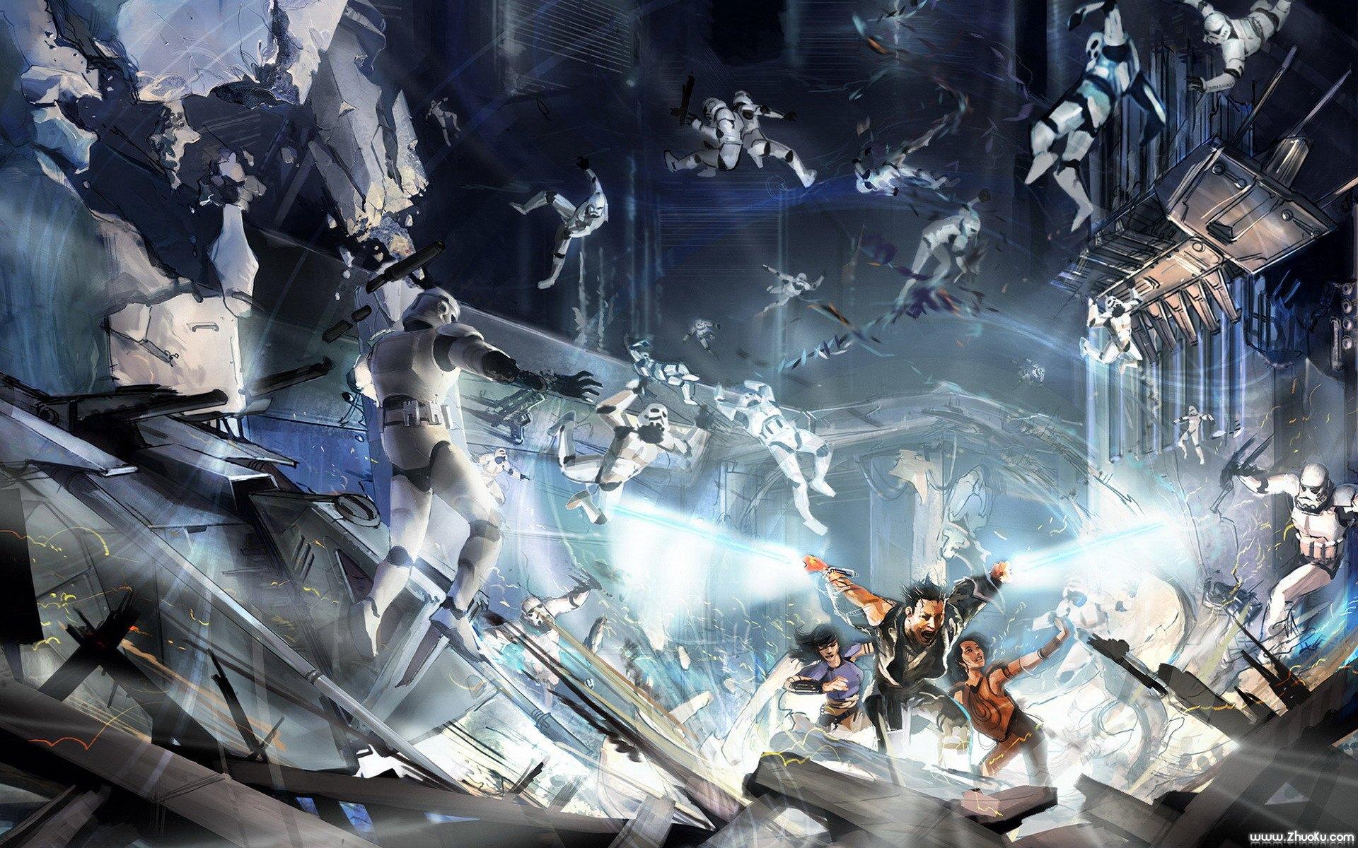 网络游戏 角色扮演 星球大战:星系 壁纸