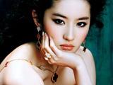 刘亦菲 晚装礼服高清宽屏壁纸(芭莎珠宝)