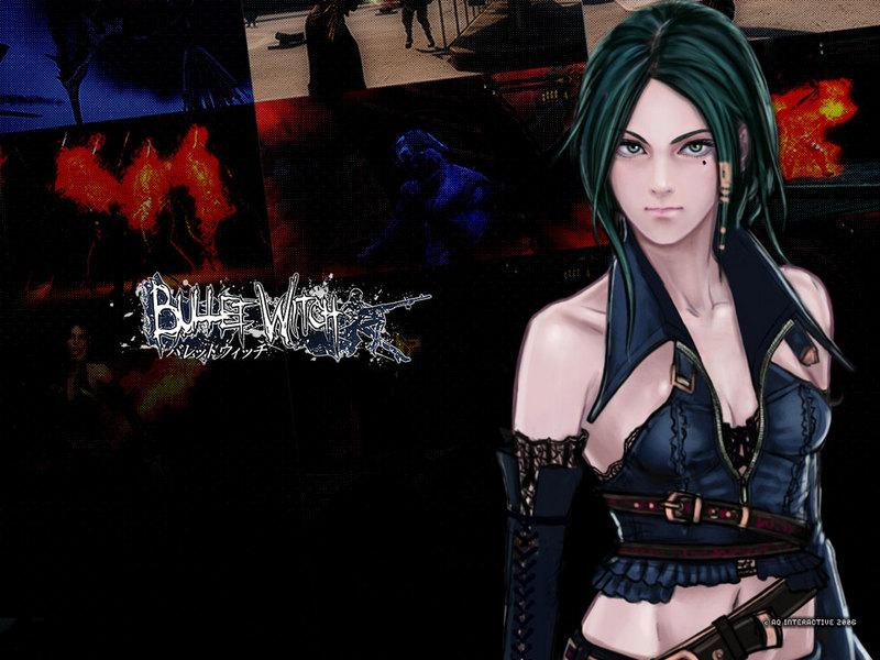 xbox360游戏 灵弹魔女bullet witch 壁纸 xbox360游戏 灵弹...