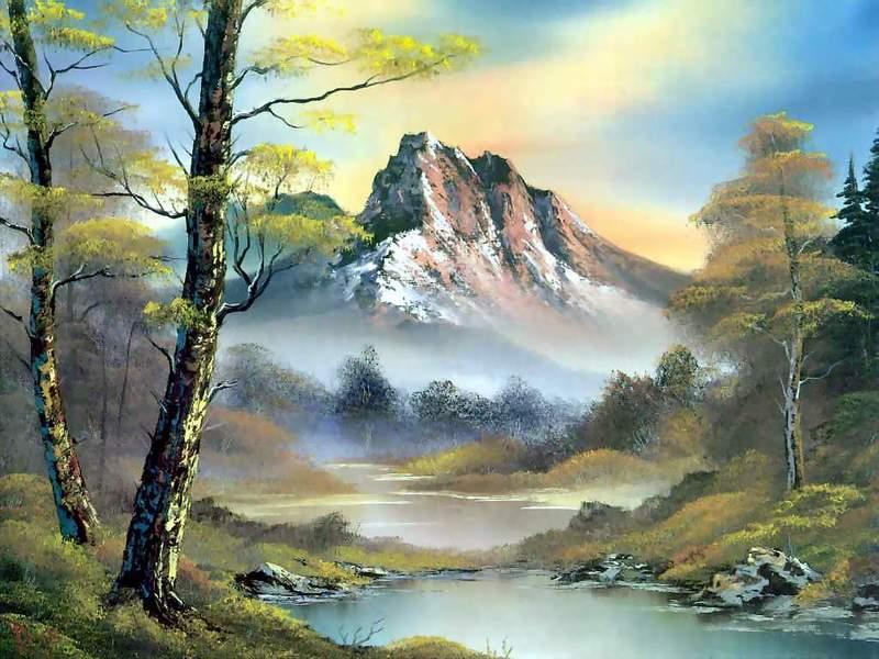 油画风景(二)2