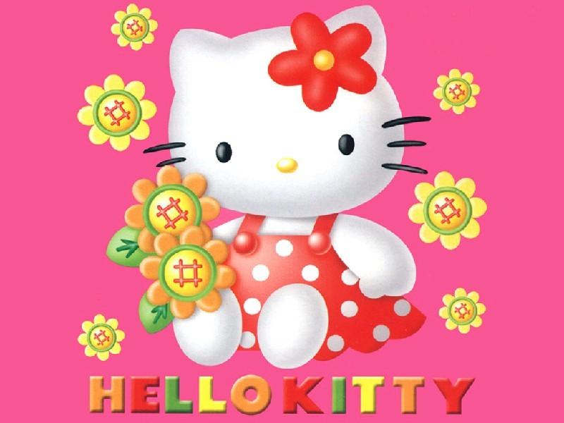 凯蒂猫手机壁纸 hello