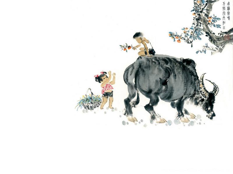 山水动物画壁纸图片 第35张-zol壁纸库