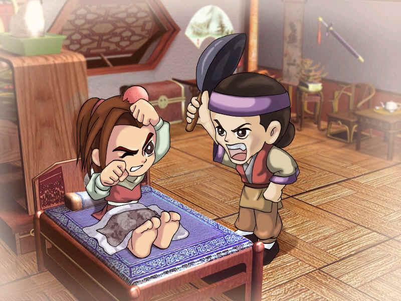 玩家将扮演《仙剑》系列的人气主角李逍遥,同林月如,赵灵儿,阿奴等诸