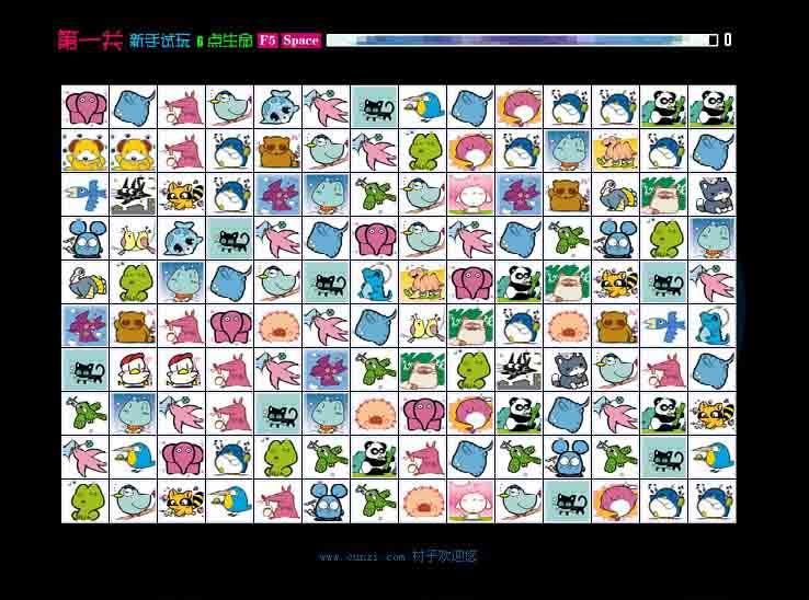 《连连看》是一款操作非常简单的小游戏,它的玩法就是用直线将两个相同的卡通图标消掉,分为十关,难度递进。这款游戏目前是风靡大江南北,出现了各种各样的版本。而有趣的是,在游戏的安装说明上明确的提示到:这是针对小朋友制作的神奇宝贝图案版游戏,最主要是训练眼明手快及增强逻辑判断能力。《连连看》种类繁多,常见的有《宠物连连看》、《水果连连看》、《水晶连连看》等。连连看游戏只要将相同的两张牌用三根以内的直线连在一起就可以消除,规则简单容易上手。连连看游戏速度节奏快,画面清晰可爱,适合细心的玩家。丰富的道具和公共模式的