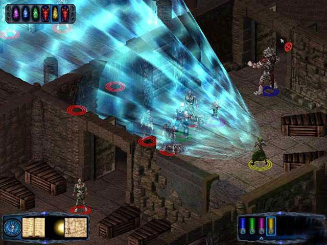 《光芒之池2:剑与魔法的传说》是一款极为优秀的角色扮演游戏。全球首款以龙与地下城第三版规则制作的游戏。有着煊丽夺目的各色魔法和剑技表现,出场怪物和魔兽超过3000种,拥有全新的战斗系统和角色升级系统。相信有眼光的国内玩家绝不会放过这款随后就将出现在国内市场的大作。