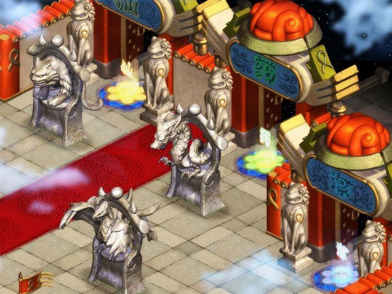 仙界传 游戏图片 神话网游 仙界传 游戏场景 2