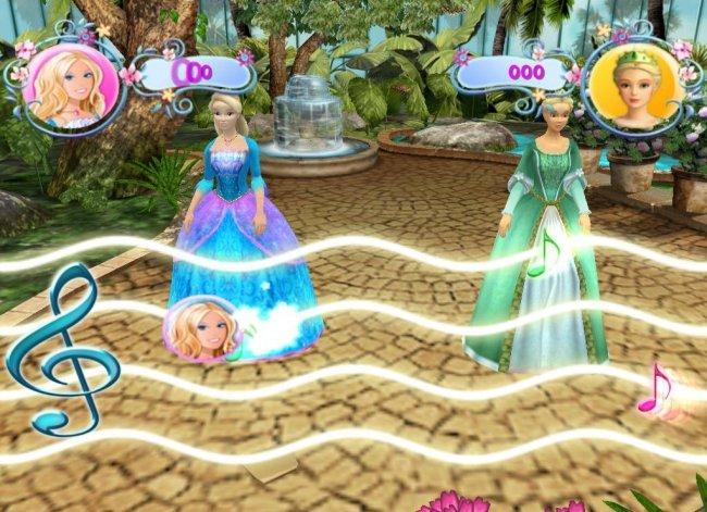 芭比之森林公主 游戏图片