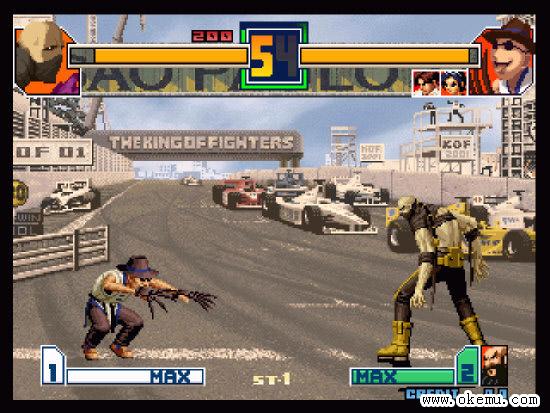 格斗之王2001