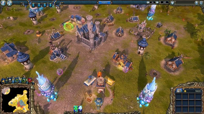 《王权2:幻想王国》(Majesty 2:The Fantasy Kingdom Sim)就如其名,是款中世纪幻想世界为背景的王国建设模拟游戏。如今游戏的开发商换成了Ino-Co,发行商也换成Paradox Interactive。游戏里玩家不仅要抵御怪物的侵袭,还可以向市民收取税金、建造公共设施,逐渐把城市建造成大都市。