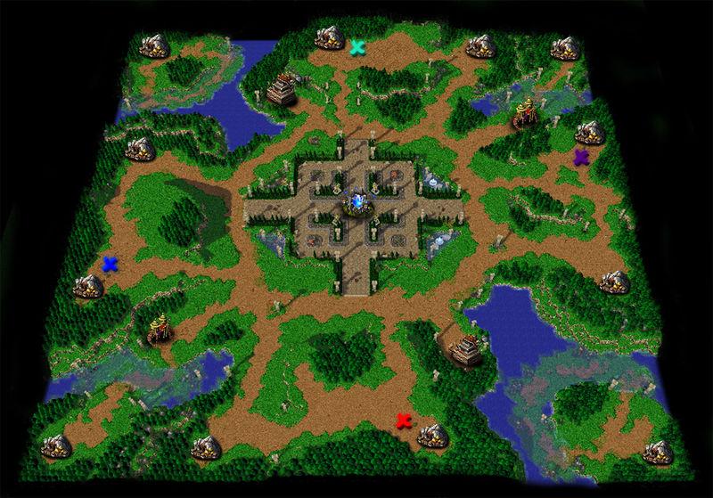 魔兽争霸 冰封王座/魔兽争霸3:冰封王座游戏图片