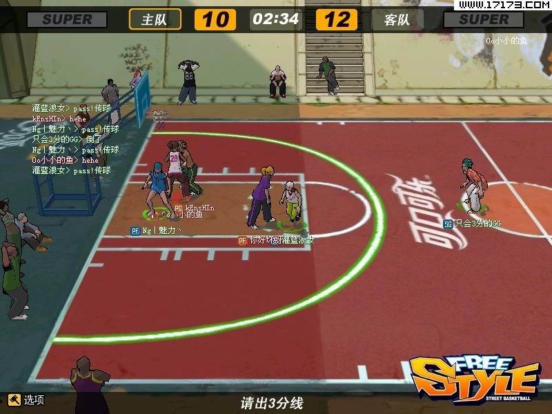 标签:pvp-街头篮球