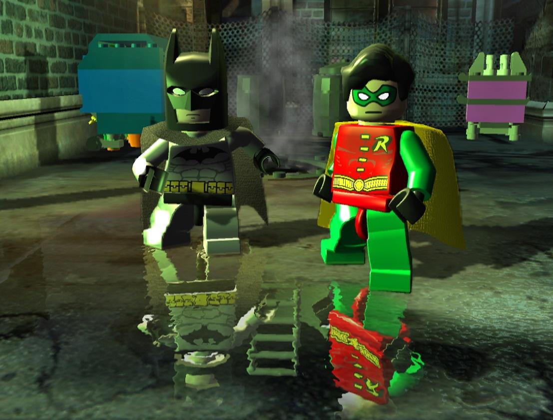 乐高蝙蝠侠 游戏图片
