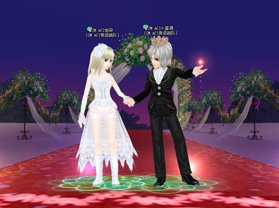 炫舞可爱情侣图片